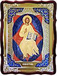 """Старовинна ікона Ісуса Христа """"Спас у силах"""", фото 2"""