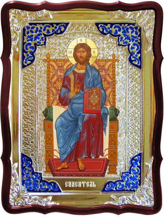 Ікона церковна Ісуса Христа - Спас на троні