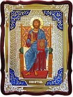 Икона церковная Иисуса Христа - Спас на троне