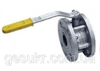 Кран Шаровой стальной фланцевый 11с42п (короткий) Ду 150/100 (С редуктором)