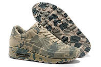 Мужские кроссовки Nike Air Max 90 VT Light Camouflage Military хаки