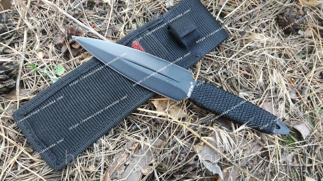 Нож метательный 6807 B Черный тигр