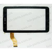 Ainol Novo 7 AX1 3G тип №1 черный емкостной тачскрин (сенсор)