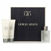 Giorgio Armani Acqua di Gio Pour Homme SET (EDT 50ml + SHOWER GEL 75ml + AFTER SHAVE BALM 75ml) (ORIGINAL)