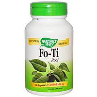 БАД Горец многоцветковый, Fo-Ti Root, Nature\'s Way, 610 мг, 100 кап.