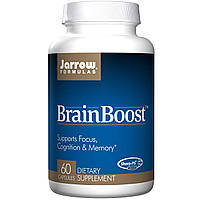 БАД Витамины для мозга, BrainBoost, Jarrow Formulas, 60 капсул