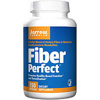 БАД Средство от запора, Fiber Perfect, Jarrow Formulas, 150 капсул