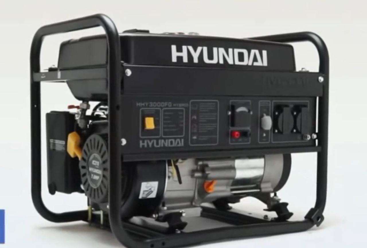 Бензиновый генератор Hyundai HHY 3000FG