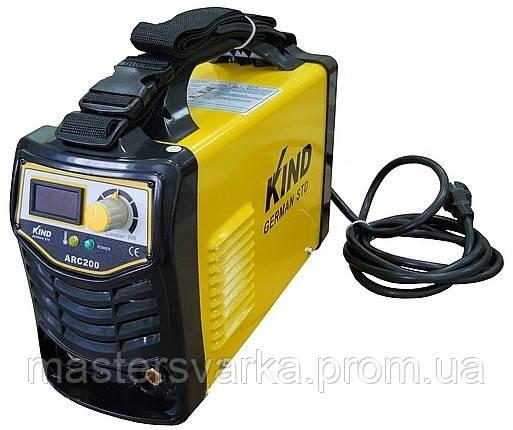 Сварочный инверторный аппарат KIND ARC-200
