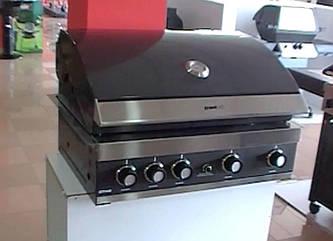 Встраиваемый газовый гриль GrandHall Maxim GTI4B-V Built in