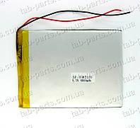 Батарея (аккумулятор) для планшета 4000мАч , Li-Pol 3.7В, 110*82*3.5 мм