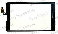 Lenovo A8-50F черный сенсор (тачскрин)