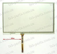 "Тачскрин (сенсор) для GPS навигатора 7"" 165X100 mm тип5"