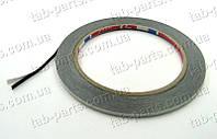 Двухсторонний скотч, ширина 1.5 мм, толщина 0.3 мм