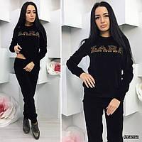 Женский велюровый костюм №2079 РО