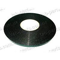 Двухсторонний скотч , черный, ширина 10 мм, толщина 1 мм, 30 метров