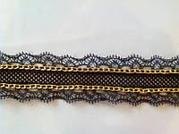 Кружево-тесьма (черное)