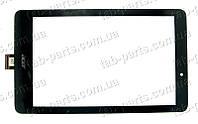 Acer Iconia A1-840 черный тачскрин (сенсор)