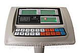 Весы торговые электронные Nokasonic (до 300 кг) с платформой и счетчиком цены на трубе (на стойке) DJV /83, фото 2