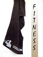 Махровые полотенца лицевые эксклюзивные фитнес для настоящих мужчин! 50х90 см.ц. молочный,