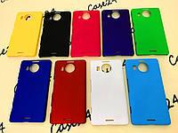 Пластиковый чехол Alisa для Microsoft Lumia 950 XL (9 цветов)