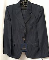 Школьный стильный костюм тройка на мальчика 9,10,11,12,13 лет