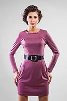 Уютное Платье Розовое Катарина Размер 42-46 Ткань: 21, Трикотаж