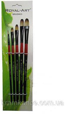 Кисточка для рисования 5шт Walid Royal-Art Brushes RA-387, фото 2
