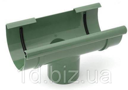 Воронка сливная водосточной системы Бриза (Bryza) 125 мм зеленый