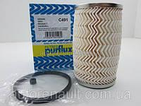 Фильтр топливный на Рено Мастер. PURFLUX (Франция) C491