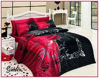 Атласное постельное белье евро размера, фото 3