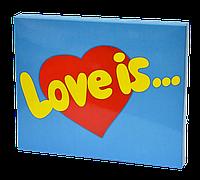 """Шоколадный набор XL 20 плиточек """"Love Is''"""