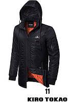Куртка мужская демисезонная Kiro Tokao 66206A (черная), фото 1
