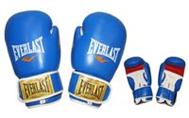 Перчатки боксерские Кожа ELAST VL-30121-L-R LION STAR (р-р 10-12oz)