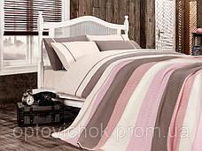 Комплект Евро постельного белья с пледом, фото 3
