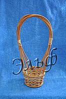 Корзинка из лозы под шампанское d12 см * 9 см, фото 1