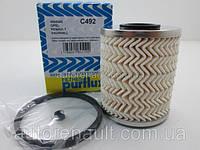 Фильтр топливный, Рено Трафик - , Opel Vivaro - Movano. PURFLUX (Франция) C492