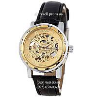 Часы Winner Auto Black-Silver-Gold