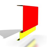 Рекламный фриз для навеса АЗС, фото 1