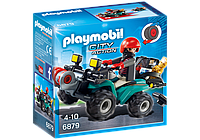Конструктор Playmobil 6879 Квадроцикл грабителя, фото 1