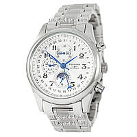 Longines Longines Master Collection Moonphases Steel Silver-White