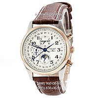 Часы Longines Longines Master Collection Moonphases Brown-Silver-Gold-White