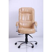 Кресло Марсель Хром Anyfix Мадрас Голд Беж (AMF-ТМ), фото 2