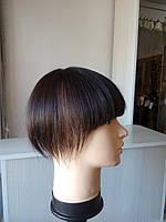 Накладка из волос на макушку при алопеции