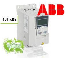 Преобразователь частоты ACS355 1,1 кВт 400В 3Ф IP20, фильтр EMC2, Solar pump drive, R1 солнечный инвертор