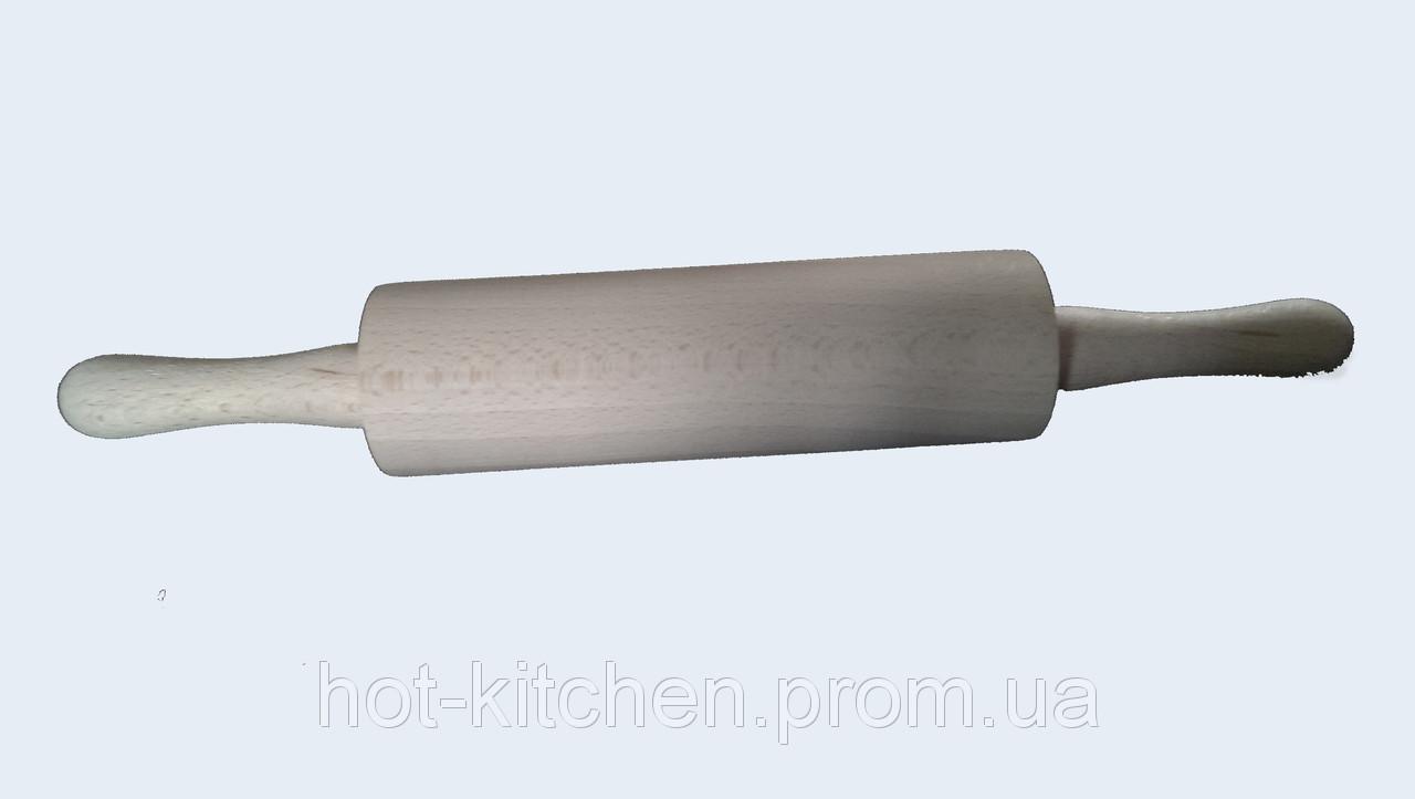 Скалка деревянная механическая 25 см опт