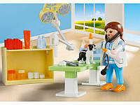 Конструктор Playmobil Возьми с собой: 5653 Ветеринарная клиника