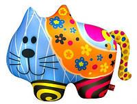 """Антистрессовая игрушка мягконабивная """"Кот"""" в цветочек """"SOFT TOYS """", DT-ST-01-62"""