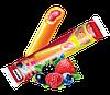 """Фруктовый лед """"Мультифрукт""""  Фруктовый лед с Мультифруктовый соком и стержнем лесной ягоды в середине.80 г"""