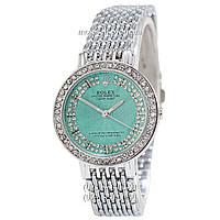 Часы Rolex Diamonds Silver-Turquoise